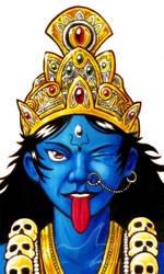 Kali detail by Amarynceus