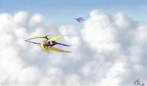 Skyships by Amarynceus