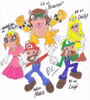 Super Mario Bros. dA by BlackCarrot1129