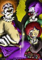 Les Clowns by x-Tsila-x