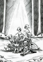 Ceux qui souffrent Vous saluen by x-Tsila-x