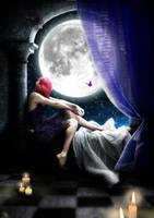 A la Lumiere du Clair de Lune by x-Tsila-x