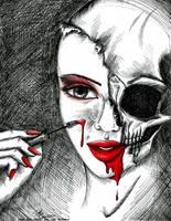 Ne vous maquillez plus au sang by x-Tsila-x