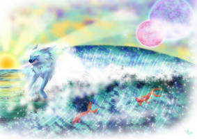 La Louve de l'Ocean by x-Tsila-x