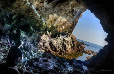 Grotte des Korrigans by x-Tsila-x