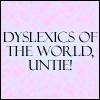 Dyslexia by FrozenOrangeJuice