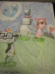 a robot love story by TehGas