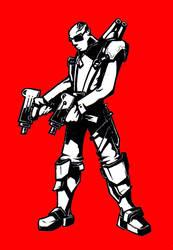 Commando by MVKISMASTAR