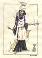 Discworld 'Kiss the Cook' by Catskind