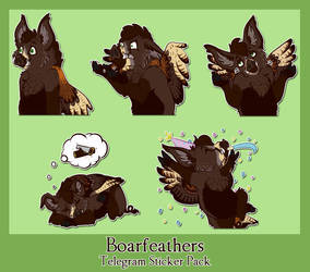Thorin Boarfeathers by SargassosArt