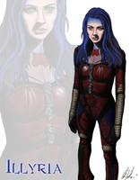 Illyria by sayterdarkwynd
