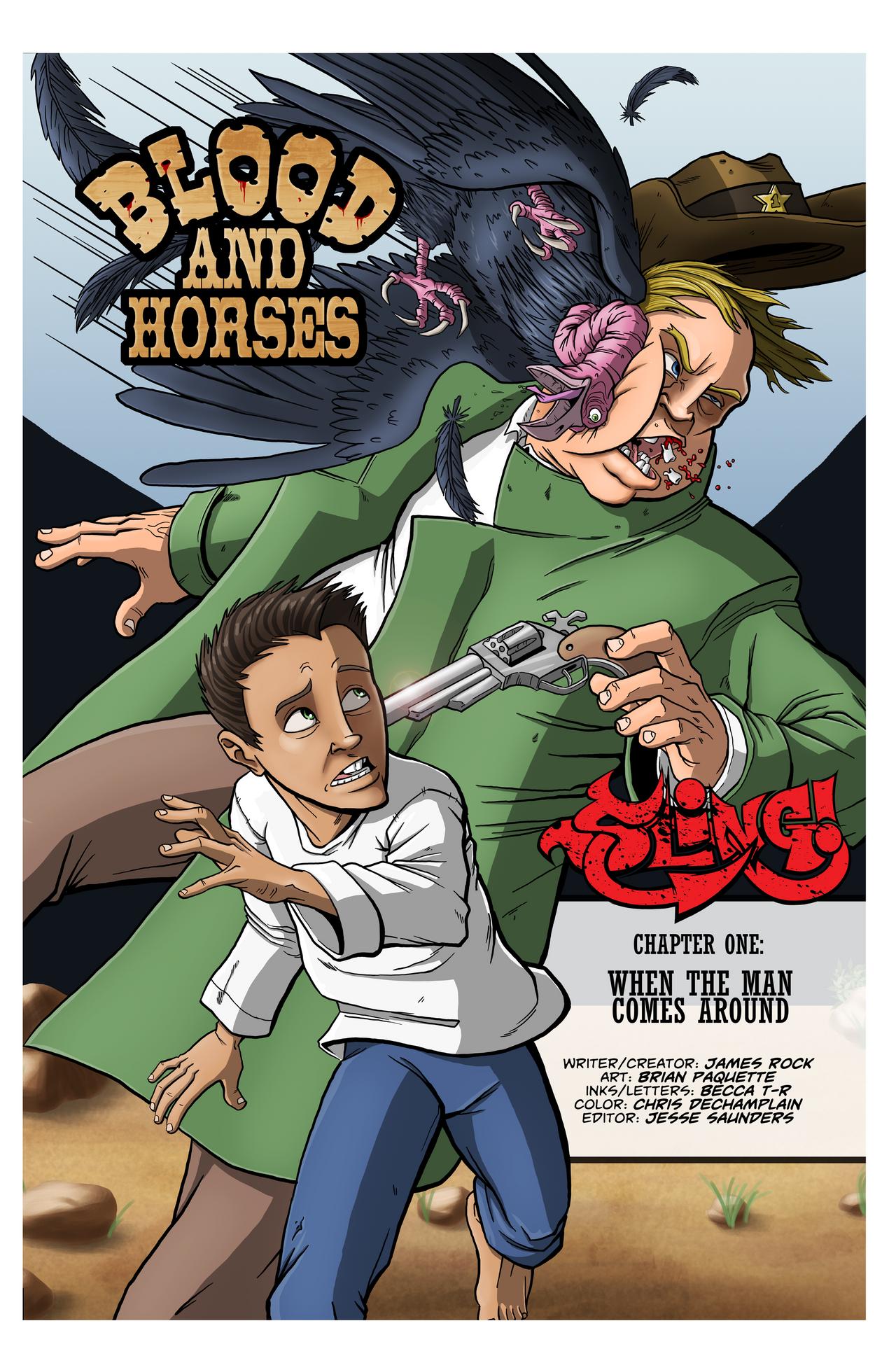 SLING! issue 1 pg6 by sayterdarkwynd