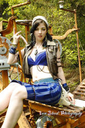 Steampunk Gypsy On Board by AzaleaJones