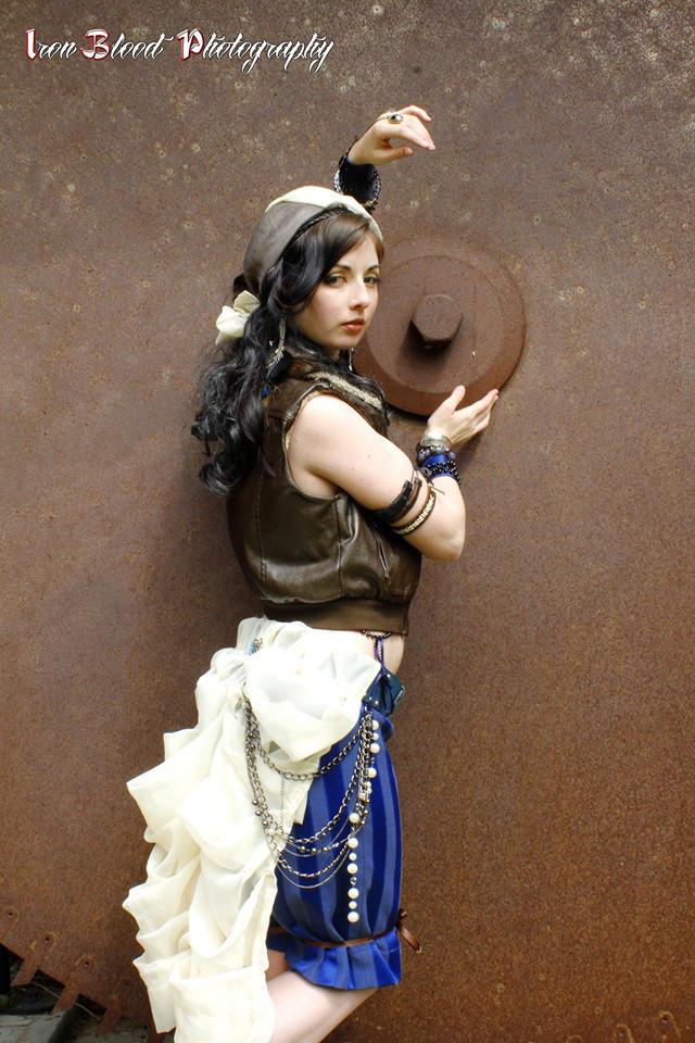 Steampunk Gypsy by AzaleaJones