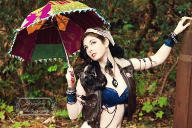 Steampunk Gypsy III by AzaleaJones