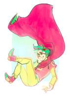 Trickster boi!! by Solvernia