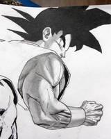 Son Goku - sketch 2 by Darko-simple-ART