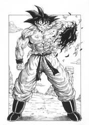 Son Goku - Everything i Got by Darko-simple-ART