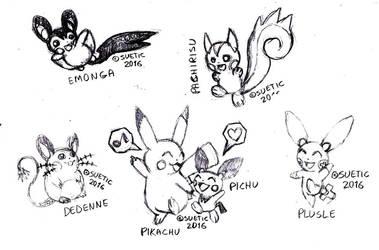 20th anniversary of Pokemon by SirSuetic