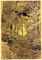 Forest passageway by Scribe1969