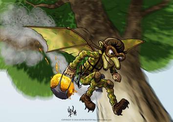 Honey Goblin by KevRichter