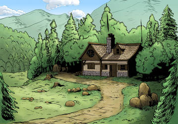 Forest House by KevRichter