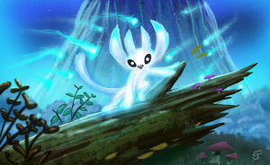 Ori and The Blind Forest by Sketching-Sketches