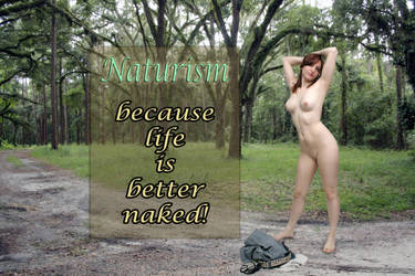 Sexy Nude Redhead Outdoors by csp-media