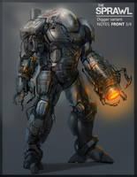 Athletic power Armour by GeniusFetus