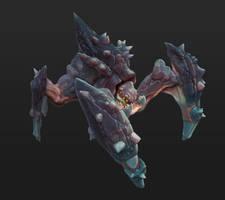 Scuttler Creature Concept by GeniusFetus