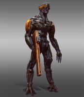 Rifle Mech by GeniusFetus