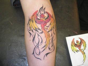 Phoenix Tattoo by LancerAdvanced