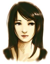 random girl by jenifuru