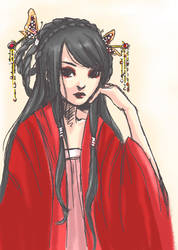 Zhu Yin Tai by jenifuru