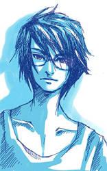 and sometimes i draw boys... by jenifuru