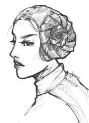 Princessleia by jenifuru
