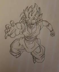 Super Saiyan Rose Goku Black by YandereSniper91