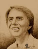Carl Sagan by bronze-dragonrider