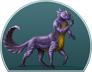 Reptilian Centaur by bronze-dragonrider