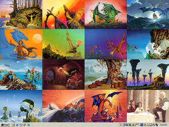 Pern collage WP by bronze-dragonrider