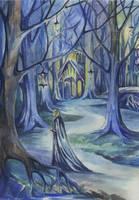 Celeborn in Lothlorien by AnotherStranger-Me