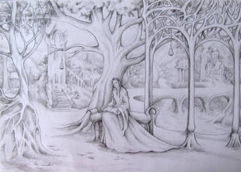Arwen in Rivendell by AnotherStranger-Me