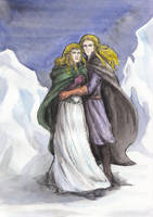Finrod and Galadriel by AnotherStranger-Me