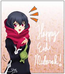 Eid Mubarak by Sheirafael