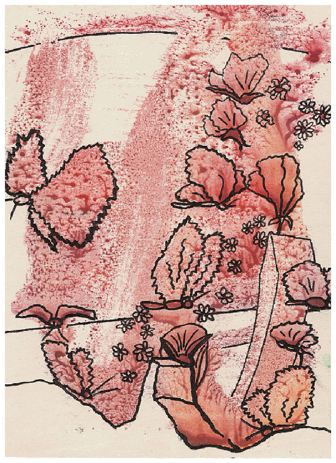 red butterflies by B-E-L-K-A