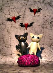 Kitty love by DelusionalAsylum