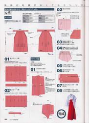 hakama pattern by Kimi-Chan17