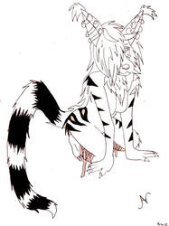 Arisel Line art by Scare-Safe