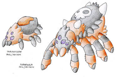 Along Came A Tarantula by Darksilvania