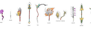 labor's weaponry by Darksilvania